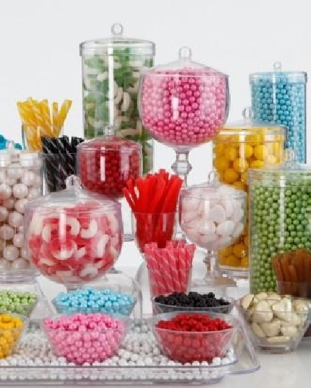 Potes para Candy Bar - Martha Stewart