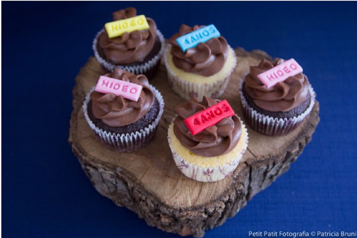 Cupcakes decorados